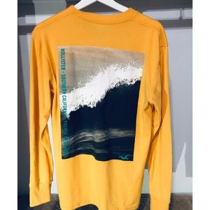 Hollister Sweaters - Hollister Men's Long Sleeve Graphic T-Shirt HOM-7✅